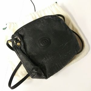 Well loved black Gucci bag